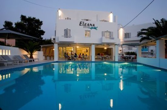 Poseidonia, Yunani: Welcome at Eleana Boutique Hotel