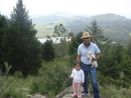 Toluca, Messico: Hasta mi perrita Atenea subió el cerro durante 4 horas!