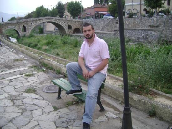 Prizren, Kosovo : I think I almost knocked over that lamp. I don't even know my own strength.