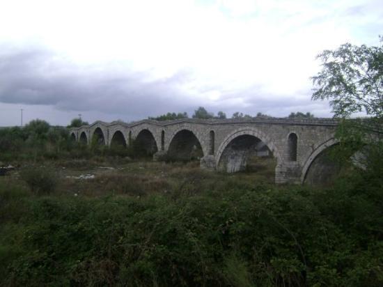 Prizren, Kosovo : Very old bridge, awesome.