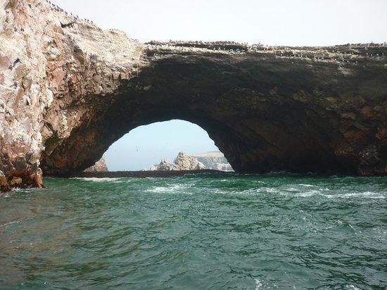 Aventura En Paracas: El arco de los deseos.... espero que se cumpla lo que pedi