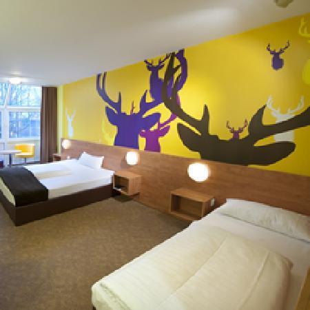 Rosdorf, Niemcy: Familienzimmer 3 Betten B&B Hotel Göttingen