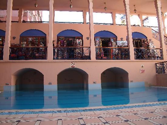 Hotel Oudaya : vue de la piscine