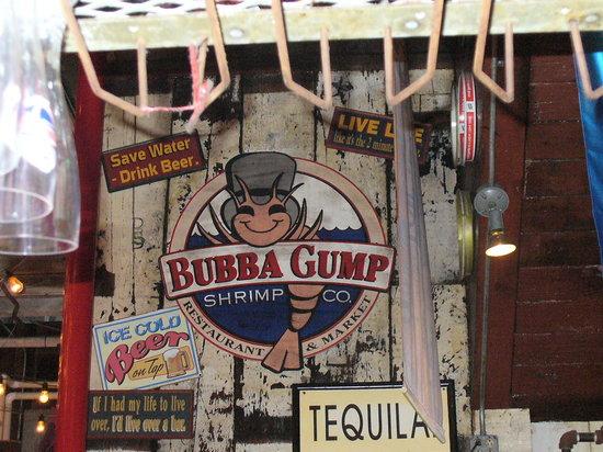 Bubba Gump Shrimp Co New Orleans French Quarter Menu