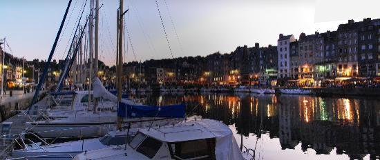 Honfleur Harbour Surrounds