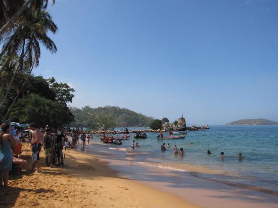 Hotel Aqua-Vi Suites & Marina : Local beach