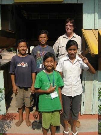 Quad Adventure Cambodia Siem Reap: Friends at The Chres Village Orphanage