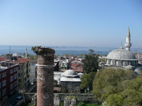 Ada Hotel Istanbul: Vue de la terrasse