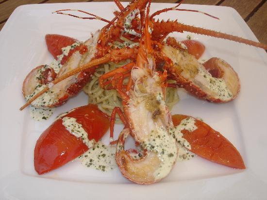 sago: lobster