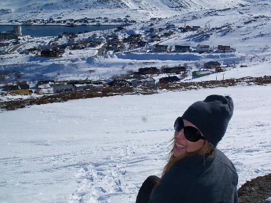 Polar Hotel: overlooking batsfjord