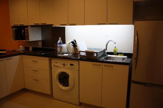 Somerset Hoa Binh: キッチン