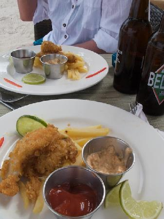 Matachica Resort & Spa: Fish & Chips