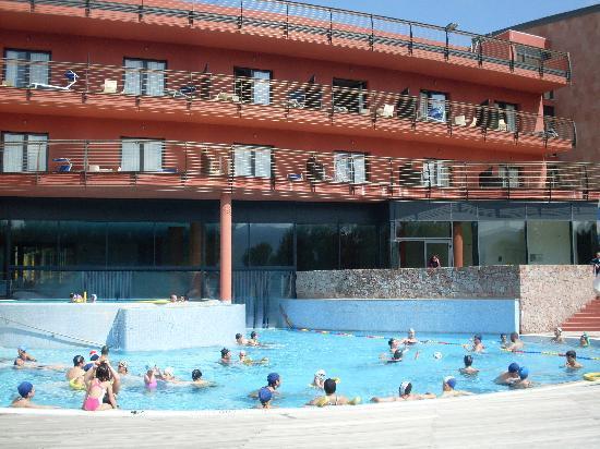 Sardegna Grand Hotel Terme: Piscine lato esterno