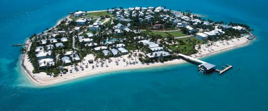 Sunset Key Cottages: Aerial of Sunset Key Island