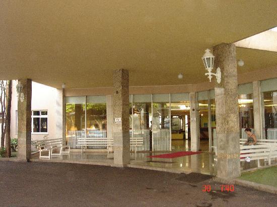Dom Pedro I Palace Hotel: entrada hotel Dom Pedro I