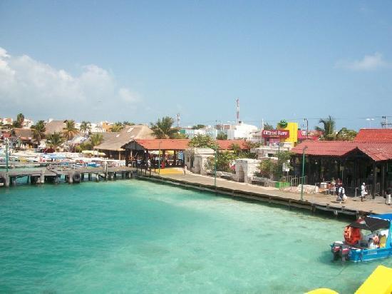 Isla Mujeres, Mexiko: Vista del Puerto