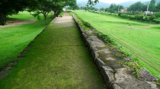 Suncheon, Sør-Korea: i lurve this path surrounding the whole city
