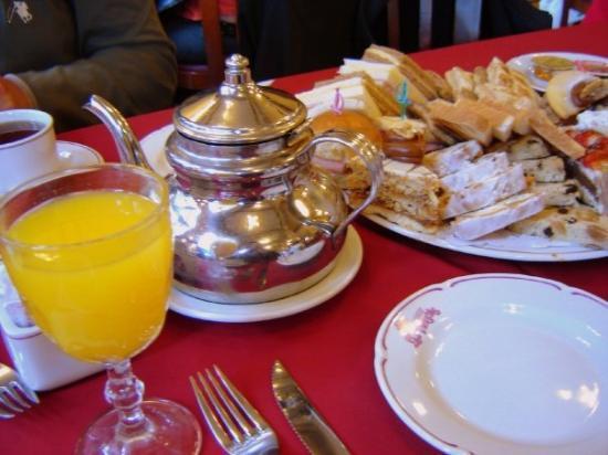 Las Violetas : el té María Calas ¡Completísimo!