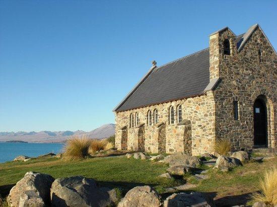 Church of the Good Shepherd: tiny weeny church