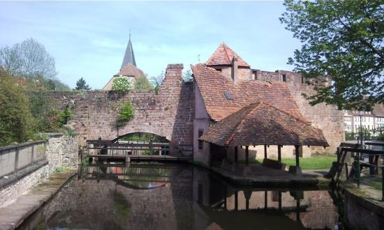 Wissembourg, France: A watergate