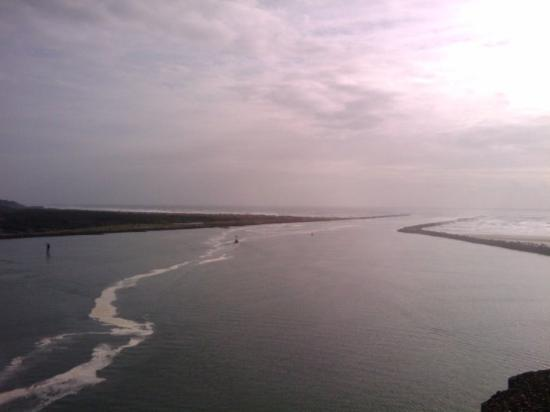 From yaquina bay state park picture of newport oregon for Jetty fishing oregon