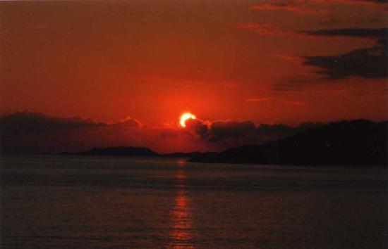 Antalya, Turquie : sunset