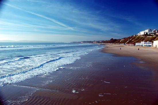 Bournemouth (เมืองโบร์นมุธ), UK: Bournemouth Beach