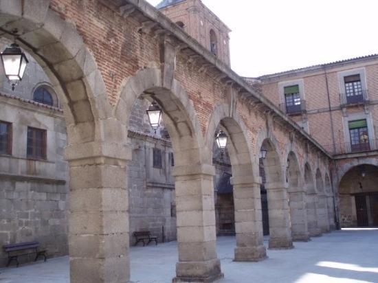 Ávila, España: Plaza Mayor