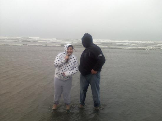 Brandon and Santriese At Ocean Shores, WA. 4/17/10