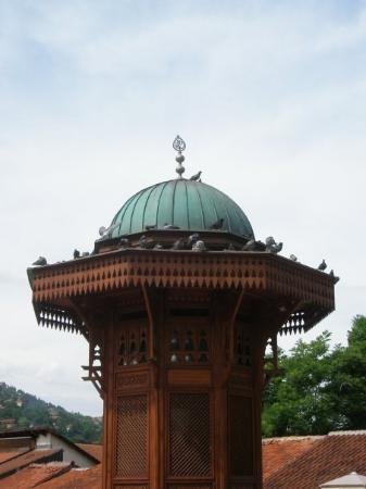 Bascarsija: Sebilj na Baščaršiji