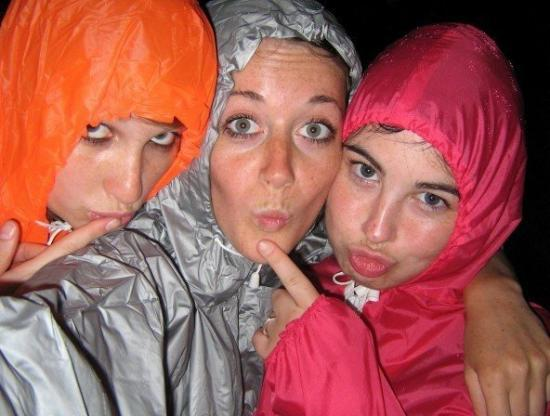 Koh Tao, Thaïlande : Looking SEXY in our rain coats
