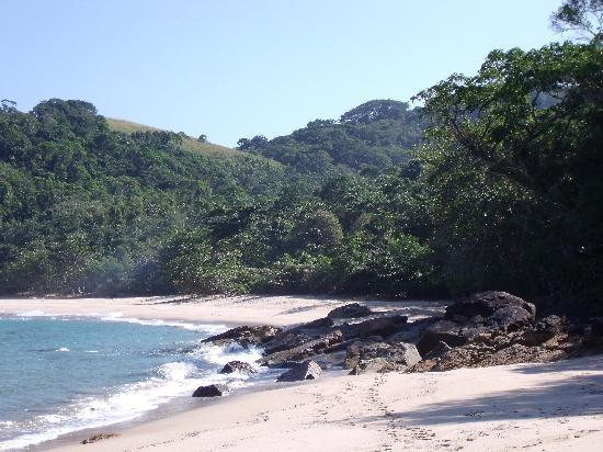 Kaissara Hostel Trindade: One of the beaches George took us to