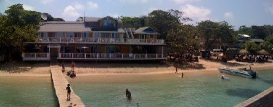 The Beach House: panoramic view