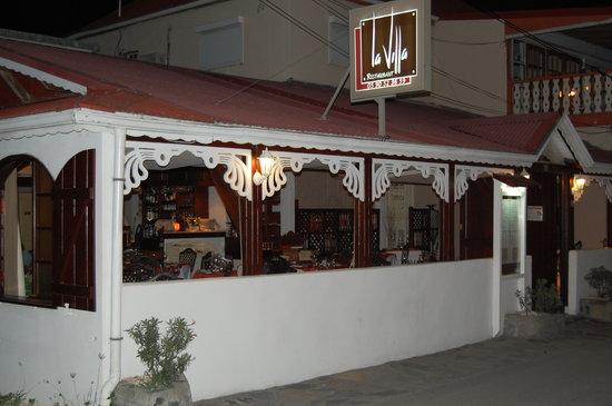 La Villa Restaurant Grand Case St Martin