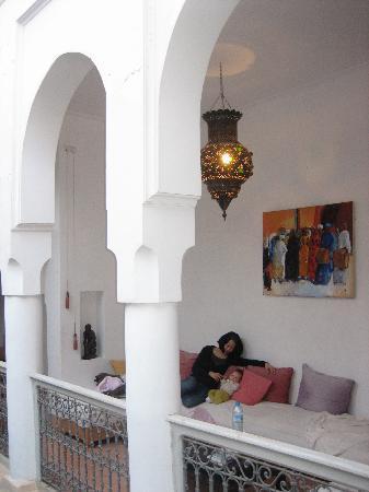 Riad Dar Nabila: terrace