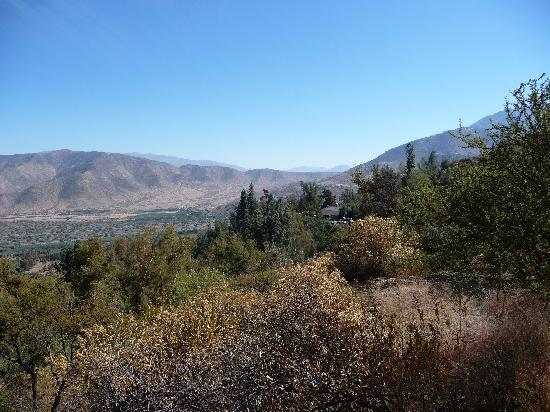San Felipe, Cile: View of the valley from the trail2