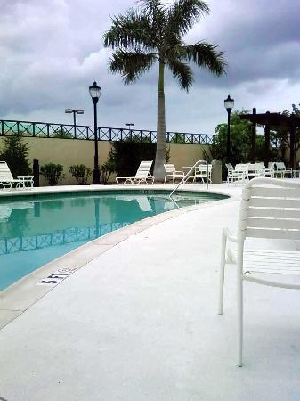 Courtyard Fort Myers at I-75 and Gulf Coast Town Center: Outdoor pool