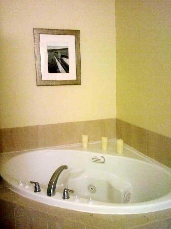 Courtyard Fort Myers at I-75 and Gulf Coast Town Center: Roomy whirlpool tub