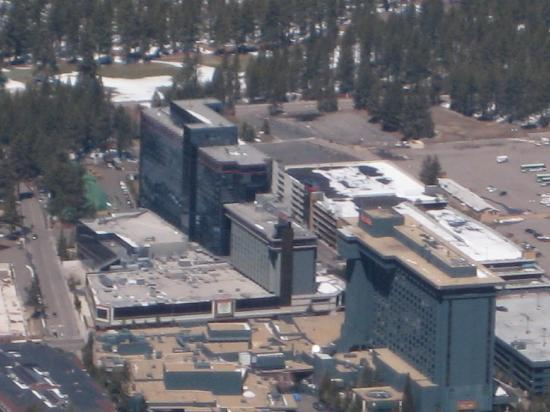 Harrah's Lake Tahoe: Hotel complex as seen from Hevenly Gondola