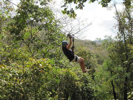 El Sabanero Eco Lodge: Canopy tour