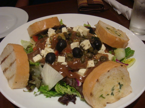 Cyma: Family Style Greek Salad, for 2 servings