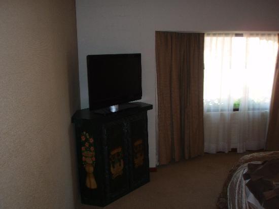 Quinta Real Guadalajara: room TV