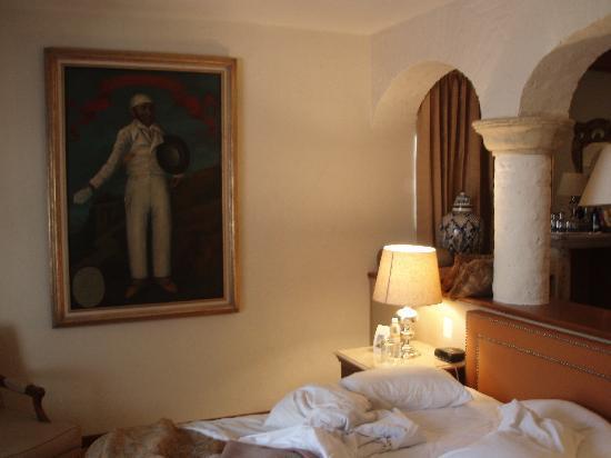 Quinta Real Guadalajara: Nice painting in our suite