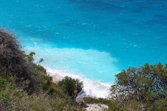 Lefkada, Greece: Blue
