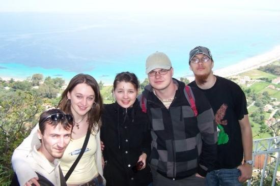 Porto Katsiki: The whole group, and the Sea