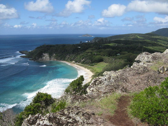 Lord Howe Island, Australia: Ned's beach - on the other side of the island