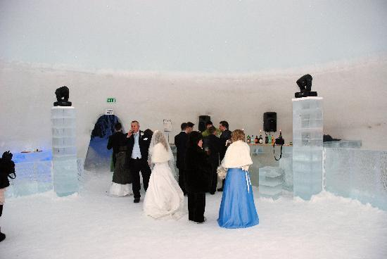 Kittilä, Finland: in the ice bar