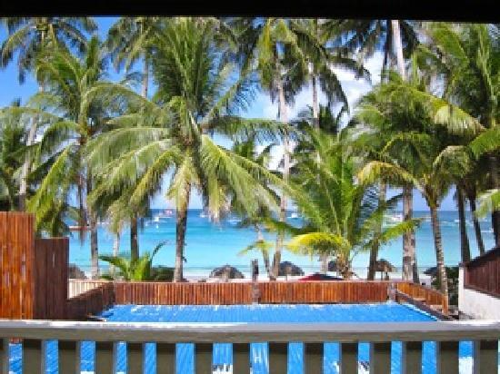 Blue Mango Inn : View from Room A private patio
