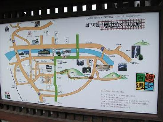 Historical Katsuyama Town Conservation Area: 案内板