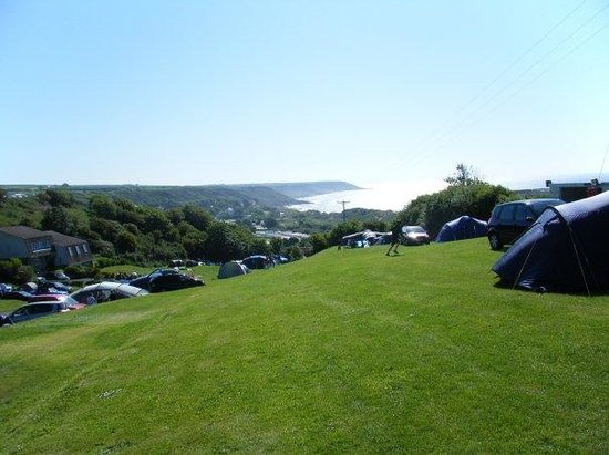 Newpark Holiday Park: View from Campsite